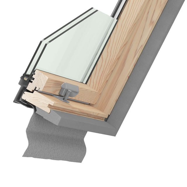 cross-section of window Ultima