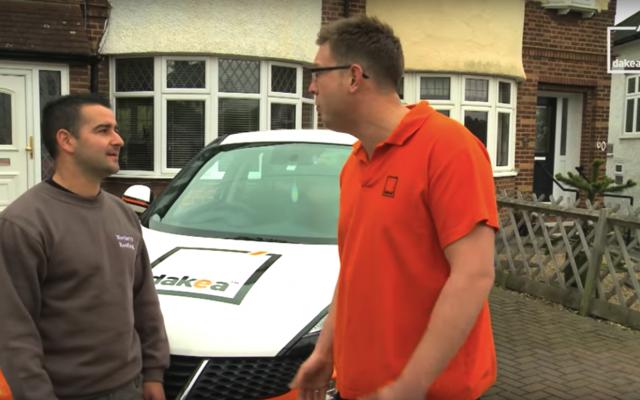 Firs installation of Dakea roof window in UK video