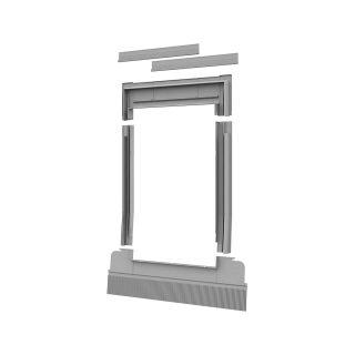Tile flashing roof window